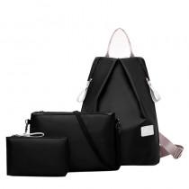 Womens 3 Set of Shoulder Backpack