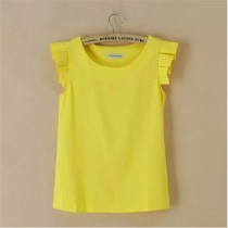Womens Chiffon Sleeveless T- Shirts