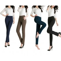 Womens Fashion Elastic Causal Leggings