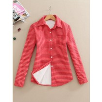Womens Long Sleeve Cotton Formal Shirts