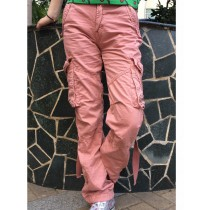 Womens New Fashion Cargo Trousers