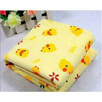 Yellow Duck Infant Baby Cotton Bed Sheet